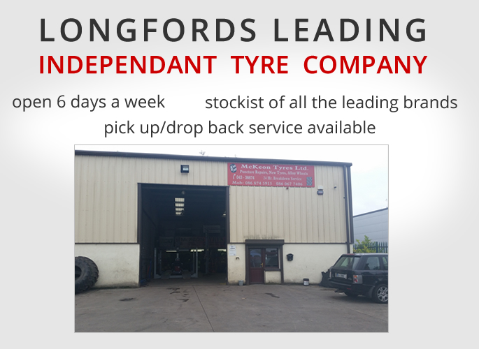 mobile mckeon tyres lonford tyre fitters midlands longford